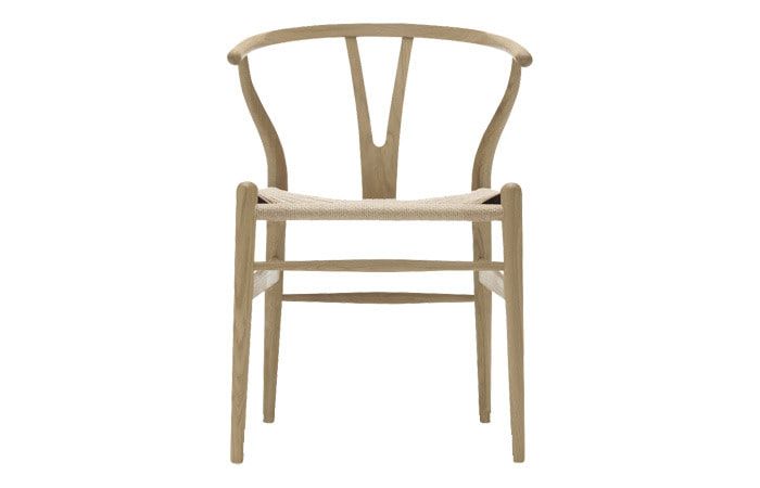 CH24 Wishbone Chair Beech Oil Natural cord
