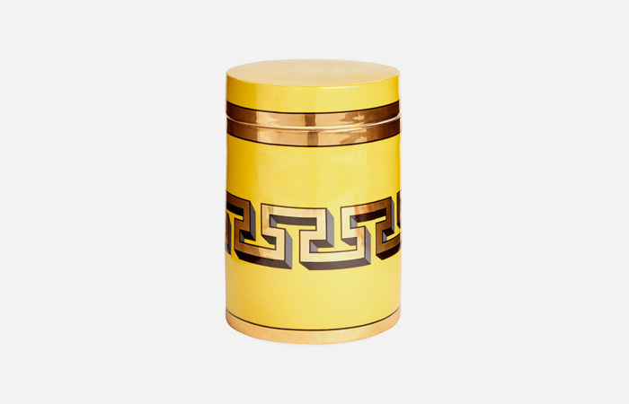 Mykonos Canister (Yellow)