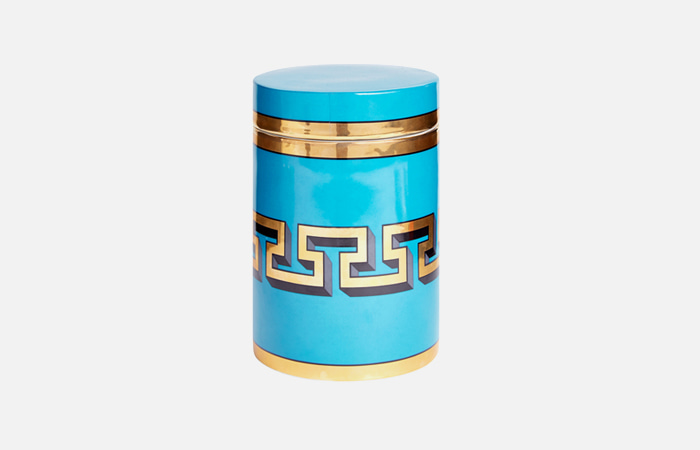 Mykonos Canister (Turquoise)
