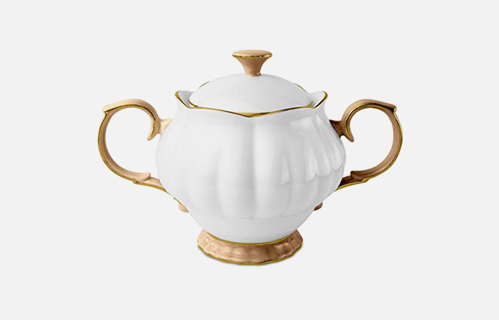Sugar bowl (Gold)