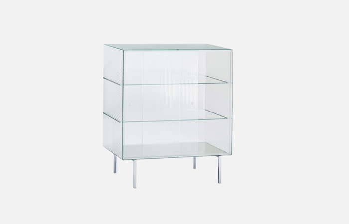 Commodore Crystal highboard with sliding doors