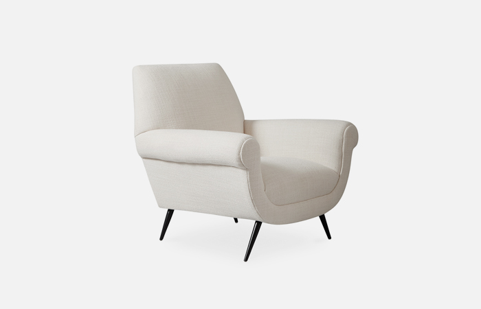 Marcello Lounge Chair (Trinidad Snow)