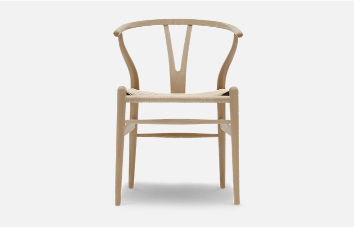 CH24 - Wishbone Chair beech oil natural cord