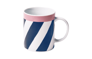 Mug Blue stripes (RIO 253)