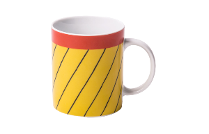 Mug Thin black stripes (RIO 254)