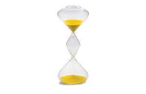 Hourglass Yellow