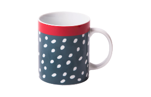 Mug Small white dots (RIO 251)