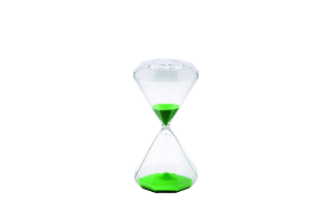 Hourglass Mini Green