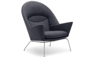 CH468 - Oculus chair Hall dal Stainless steel