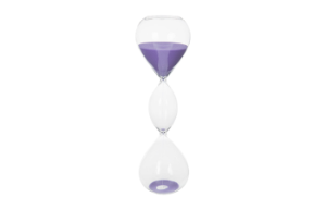 Hourglass Purple