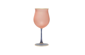 Dolce Vita Wine Glass (Rosa Pink)