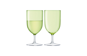 HINT Wine/Water Glass (Pale Lime)