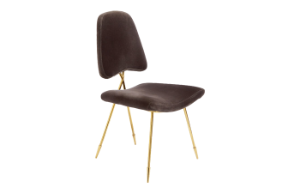 Jonathan Adler Maxime Dining Chair (Charcoal)