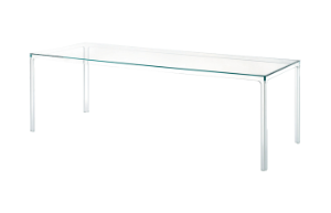 Oscar Rectangular crystal table