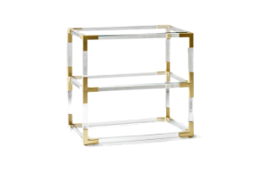 Jacques 2-Tier Side Table (display sale)