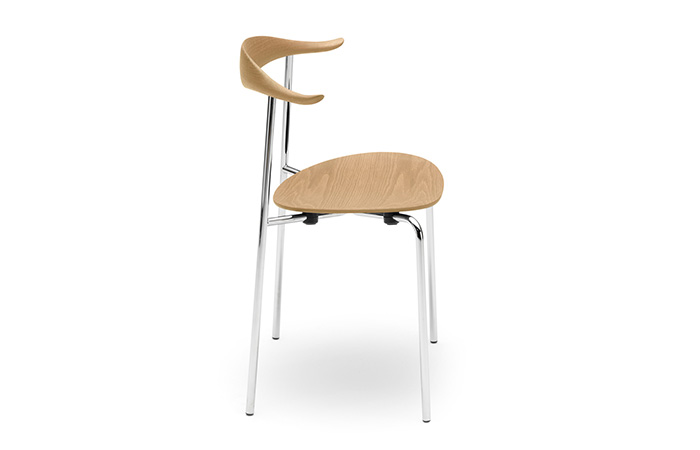 CH88T Chair all wood oak soap Stainless steel
