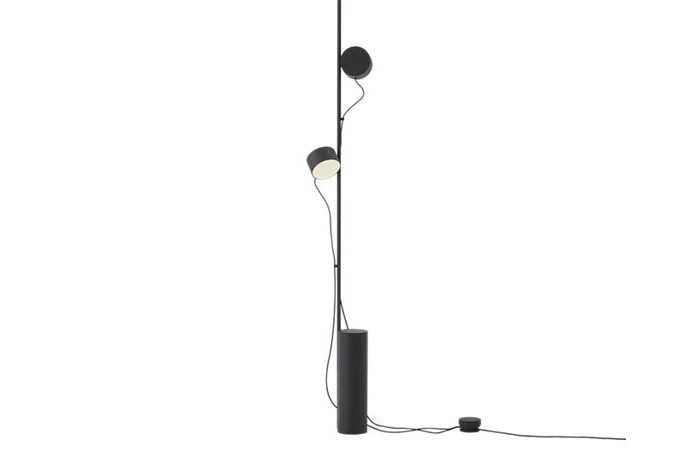 Post Floor Lamp (Black)