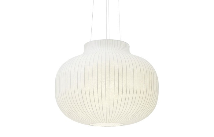 Strand Pendant Lamp Ø80 Closed (White)