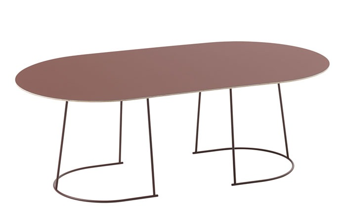 Airy Coffee Table (Plum) (Large)