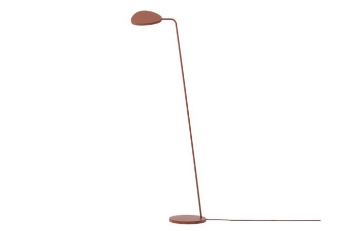 Leaf Floor Lamp (Copper Brown)