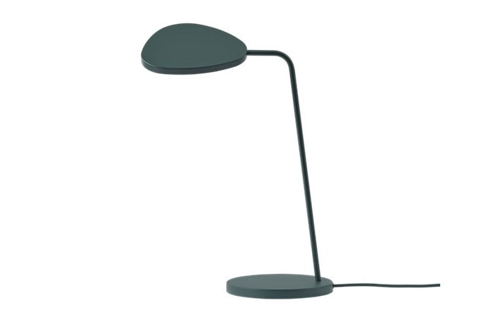Leaf Table Lamp (Dark Green)