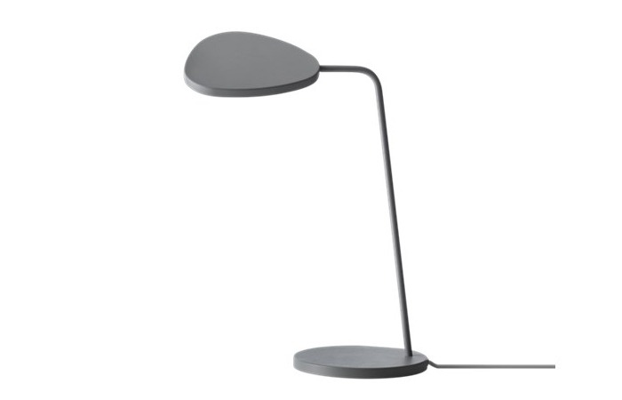 Leaf Table Lamp (Grey) 전화 문의