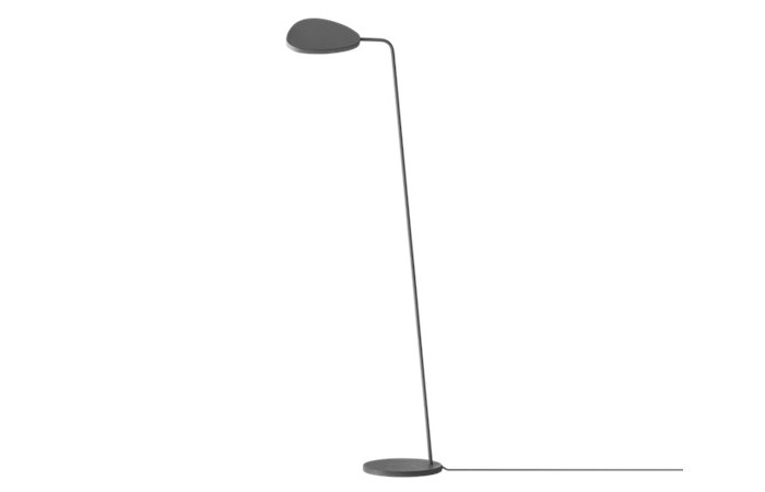 Leaf Floor Lamp (Black) 전화 문의