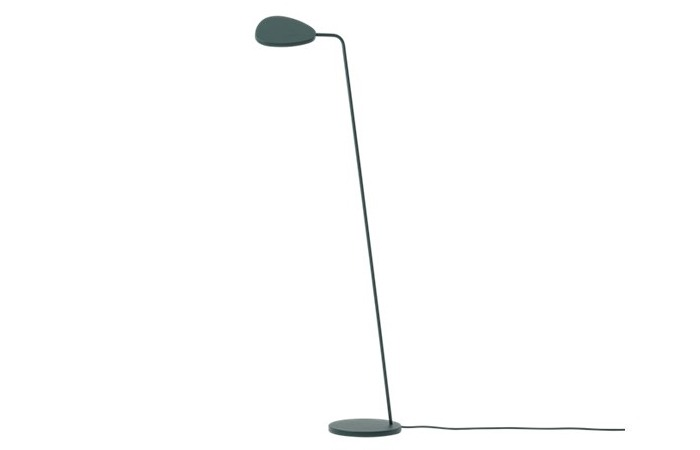 Leaf Floor Lamp (Dark Green) 전화 문의