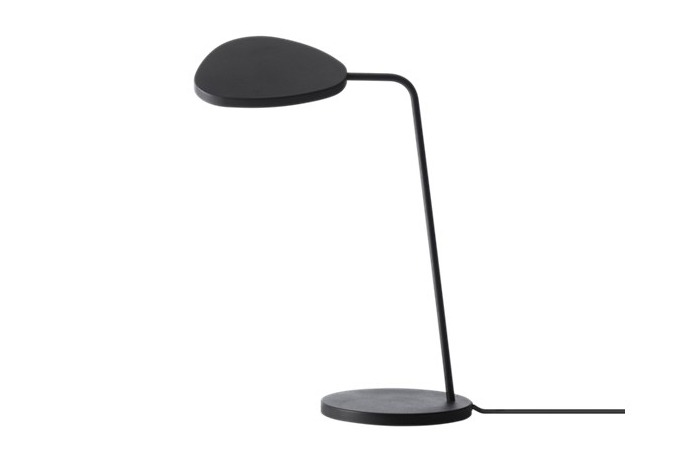 Leaf Table Lamp (Black) 전화 문의