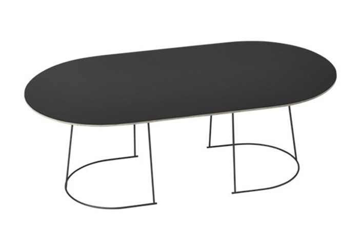 Airy Coffee Table (Black) (Large)