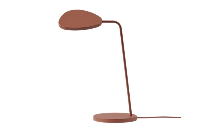 Leaf Table Lamp (Copper Brown) 전화 문의