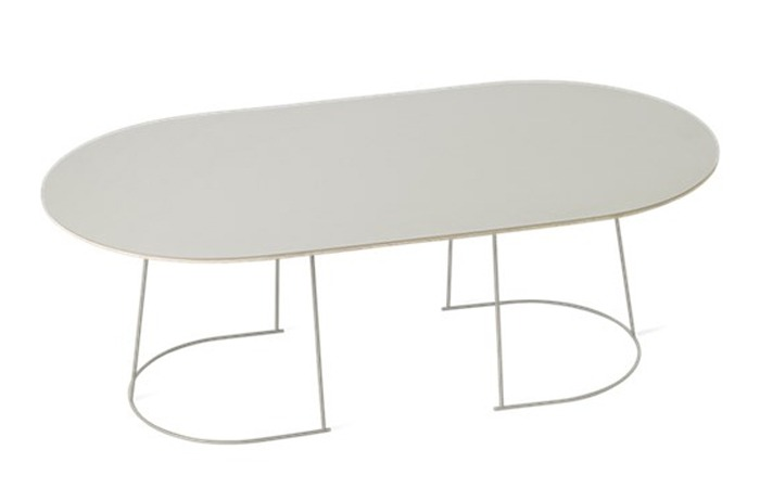 Airy Coffee Table (Grey) (Large)