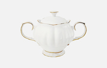 Sugar bowl (white)