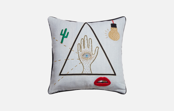 Bijoux Emblem Pillow