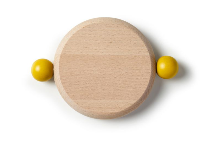 mini cutting board - Yellow