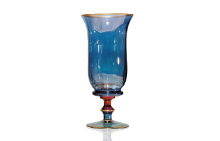 Arlecchino Vase On Stand (BLUE) 화병 (Display)