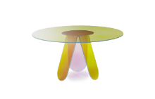 Shimmer round dining table